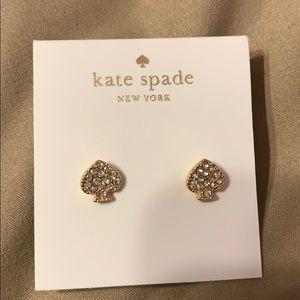 NWT Kate Spade ♠️ earring studs